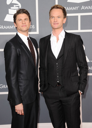 Neil and David @ the 54th Annual GRAMMY Awards - Arrivals