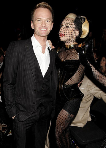 dacastinson and _naiza wallpaper titled Neil and Lady Gaga *-*