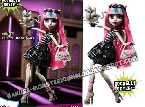 Monster High hình nền called New búp bê 2012 - Rochelle Goyle