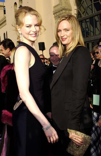 Nicole Kidman and Uma Thurman