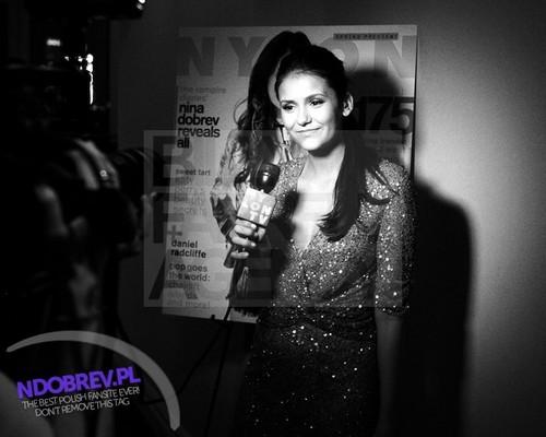 Nina Dobrev's Nylon Cover Celebration