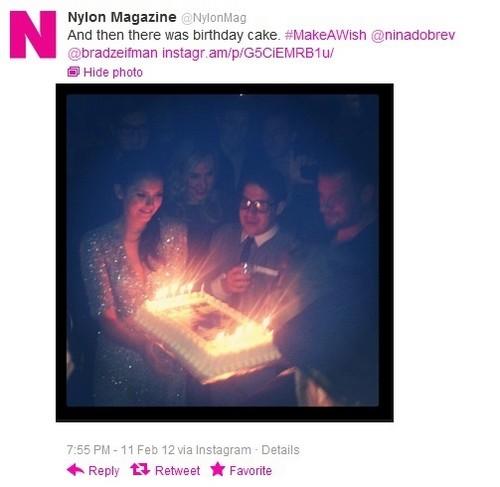 Nylon party cake