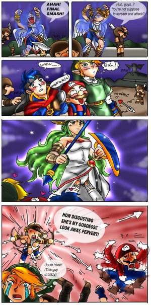 Pit's Final Smash