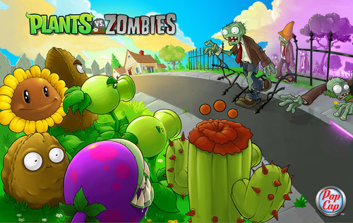 Plants vs Zombies 壁纸