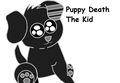 Puppy Death The Kid - soul-eater fan art