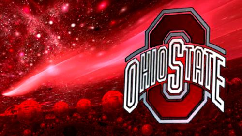 fútbol del estado de Ohio fondo de pantalla titled RED BLOCK O DONE WITH MANDELBULB 3D