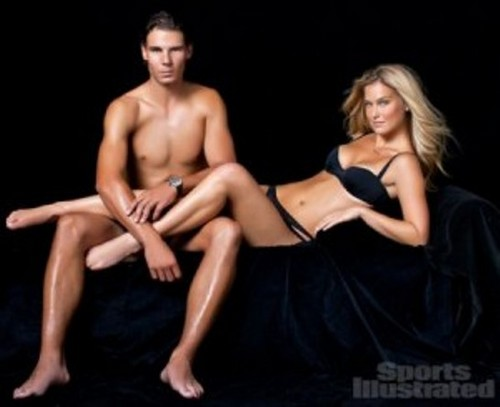 Rafael Nadal wallpaper containing skin entitled Rafa : naked Bar instead of Shakira !