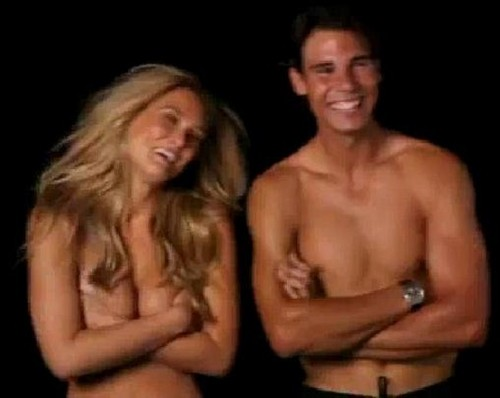 Rafa : naked Bar instead of Shakira !!!!!! - rafael-nadal Photo