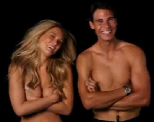 Rafa : naked Bar instead of Shakira !!!!!!