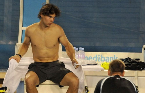 Rafael Nadal is ashamed for his body ..