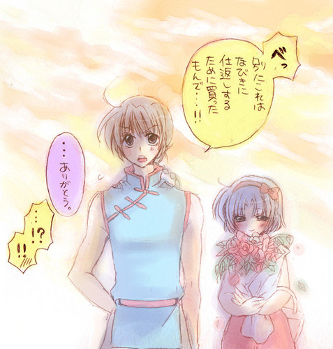 Ranma 1/2 Ranma Saotome and Akane Tendo_ प्यार