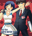 Ranma 1/2 Ranma Saotome and Akane Tendo_ love - anime fan art