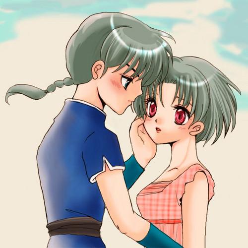 Ranma & Akane [ Ranma Saotome - Akane Tendo ]