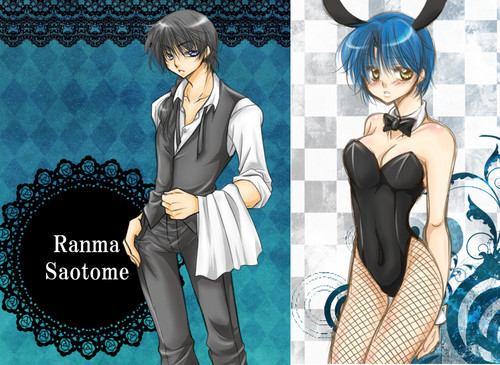 Ranma Saotome & Akane Tendo