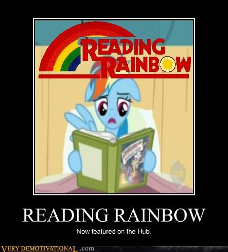 Reading قوس قزح