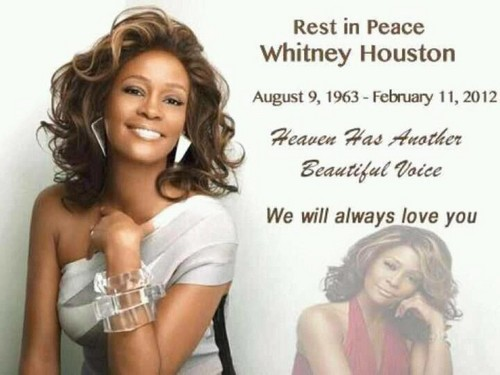 Rest in Peace Whitney