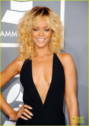 Rihanna - Grammys 2012 Red Carpet