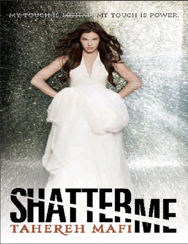 Libri da leggere wallpaper probably containing a gown, a cena dress, and a bridesmaid entitled Shatter Me
