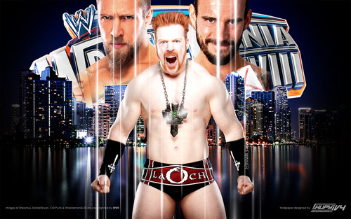 Sheamus-Road to Wrestlemania - wwe Wallpaper
