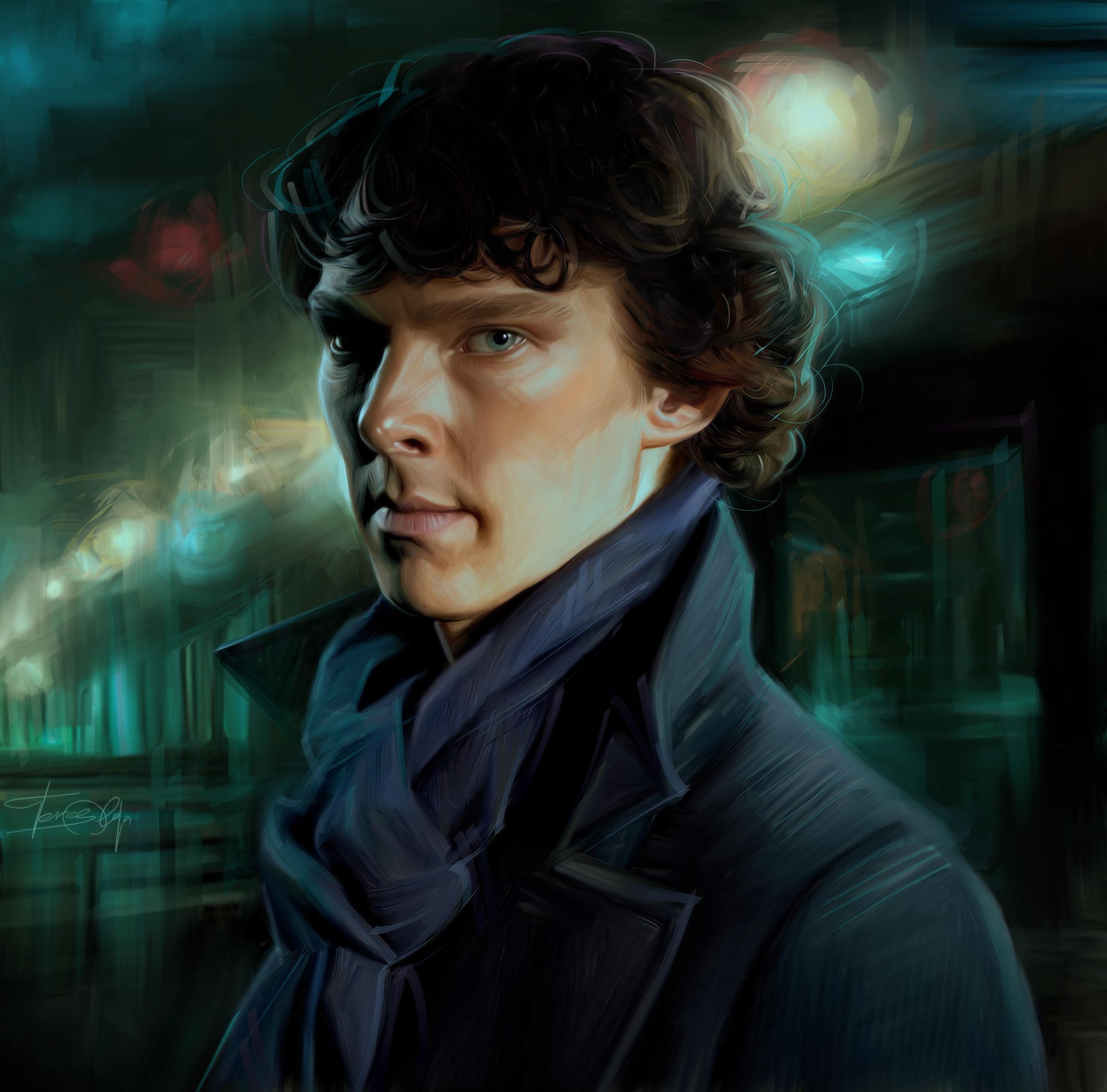 Sherlock by Olga Teres... Benedict Cumberbatch Sherlock