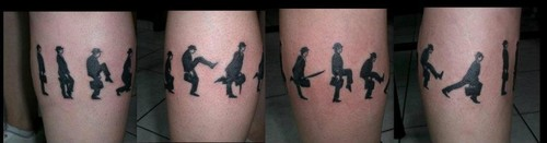 Monty Python wallpaper titled Silly Walks Tattoo
