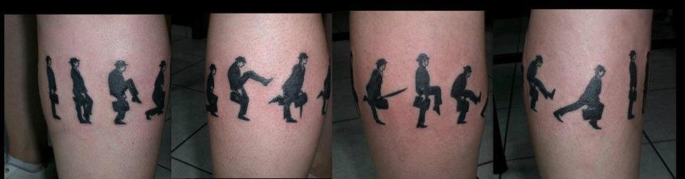 Silly Walks Tattoo
