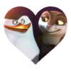 Skilene Heart - penguins-of-madagascar Icon