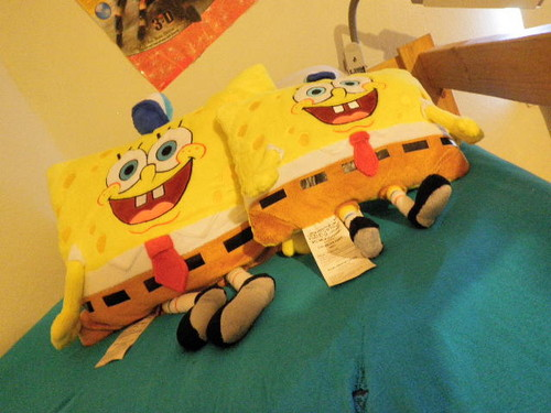 SpongeBob Pillow Pets