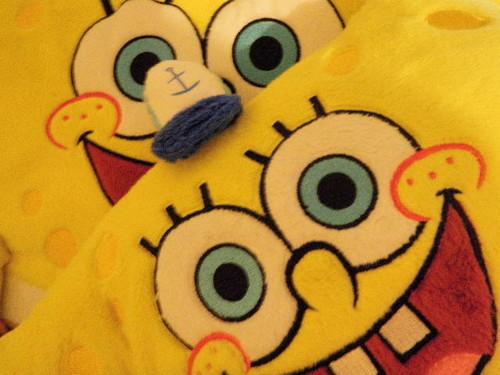 SpongeBob 베개 Pets
