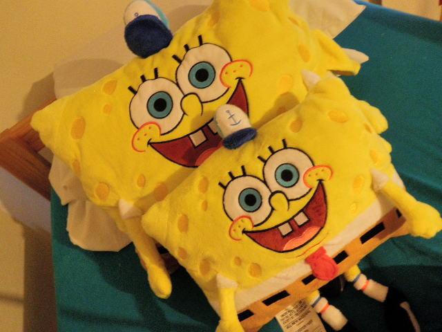 spongebob squarepants images spongebob pillow pets wallpaper and