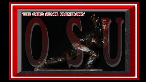 THE OHIO STATE UNIVERSITY, HEISMAN TROPHY