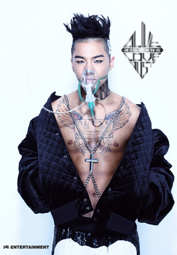 Taeyang's  image teaser (Alive!) - k-pop-4ever Photo