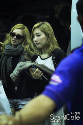 Taeyeon @ Airport
