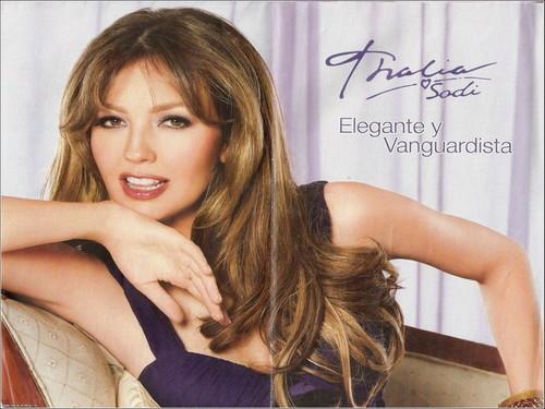 Thalia wallpaper with a portrait titled Thalia