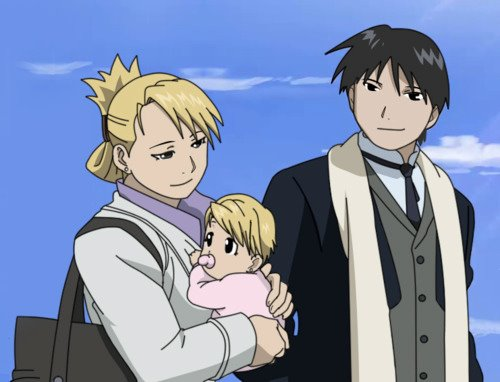 鋼の錬金術師 壁紙 containing アニメ entitled The First Family