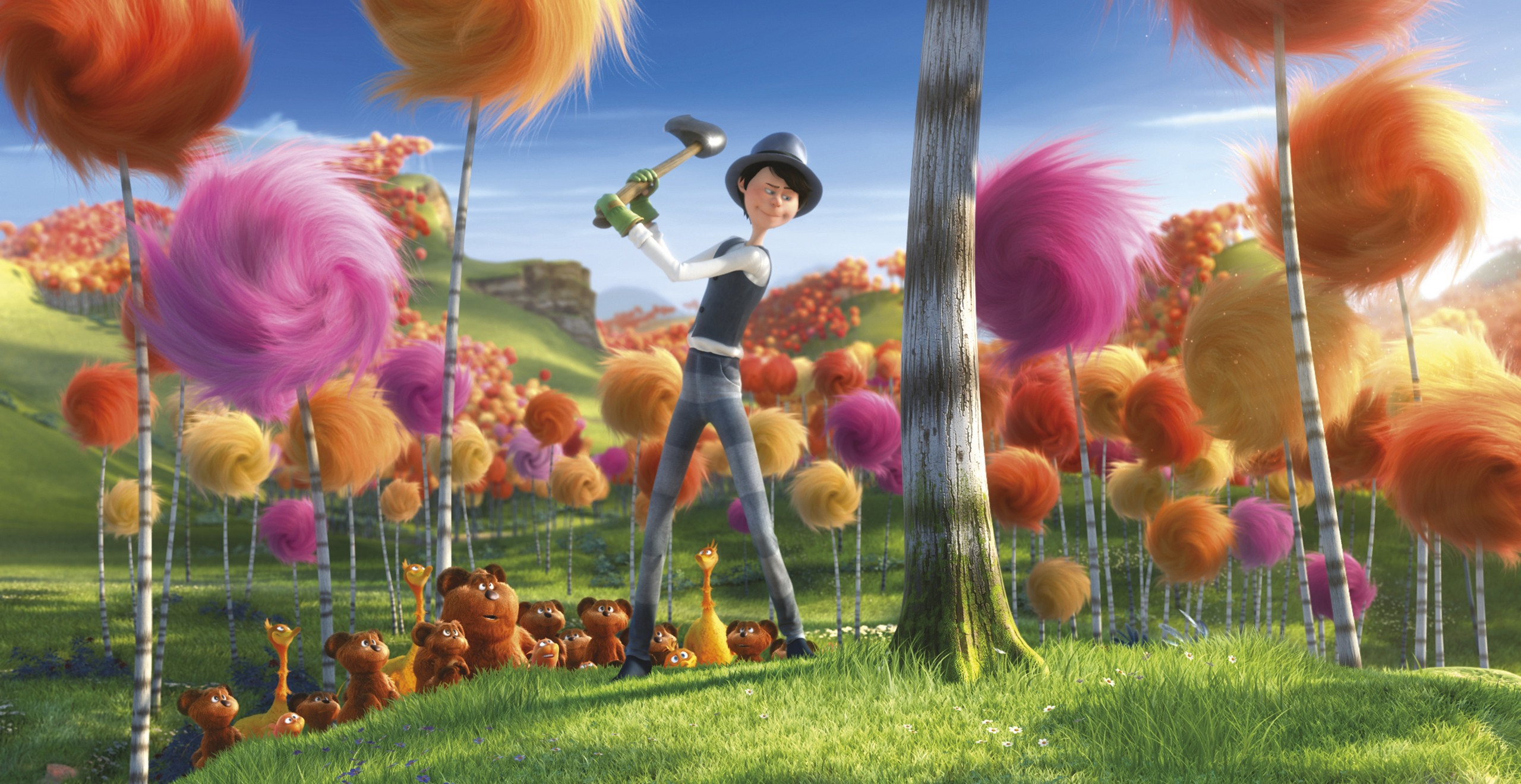 Dr Seuss The Lorax Images The Lorax Hd Wallpaper And Background