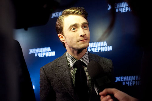daniel radcliffe fondo de pantalla with a business suit called The Woman in Black - Moscow Premiere - February 15, 2012