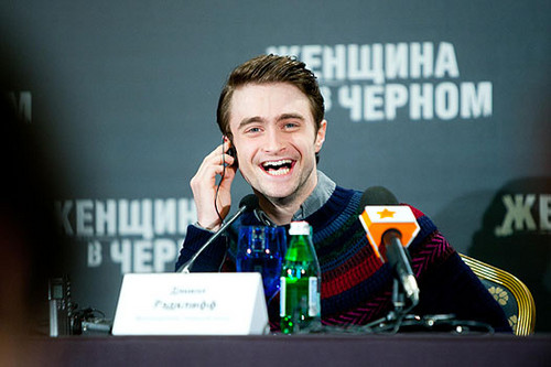 The Woman in Black - Moscow Press Conference - February 16, 2012