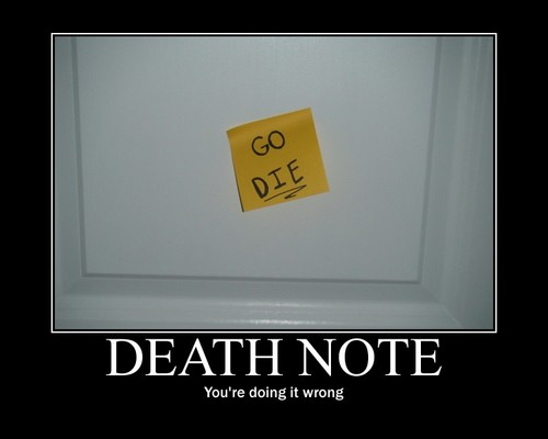 The new Death Note?