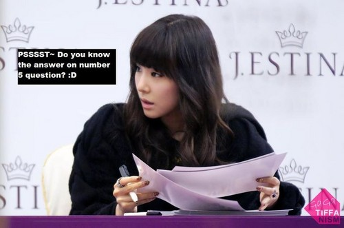 Tiffany Funny Picture - tiffany-girls-generation Fan Art