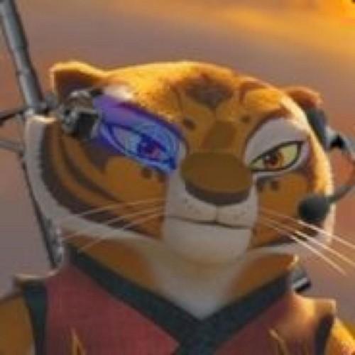 tijgerin, die tigerin on set