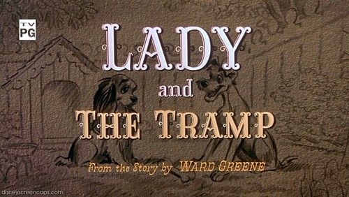judul Card for Lady and the Tramp