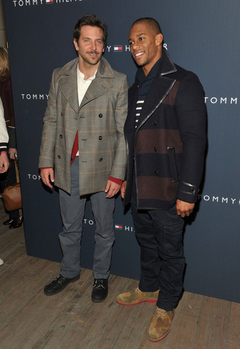 Tommy Hilfiger Men&#39;s - Backstage - Fall 2012 Mercedes-Benz Fashion Week - bradley-cooper Photo