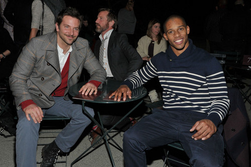 Tommy Hilfiger Men's - Front Row - Fall 2012 Mercedes-Benz Fashion Week - bradley-cooper Photo