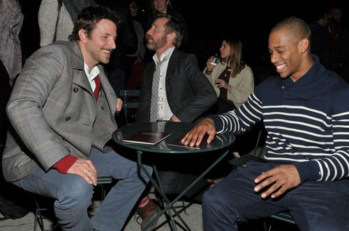Tommy Hilfiger Men's - Front Row - Fall 2012 Mercedes-Benz Fashion Week