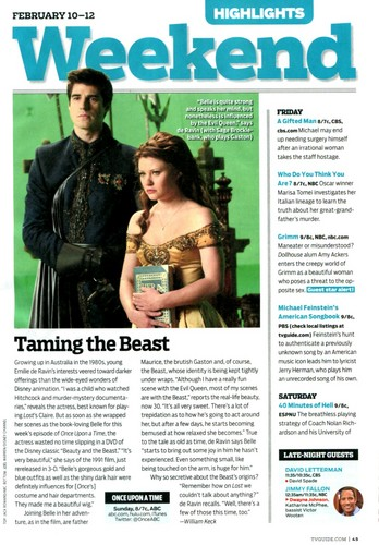 Tv Guide: Taming The Beast लेख