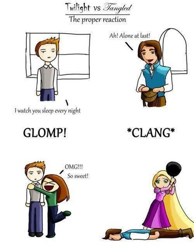 Twilight vs. Tangled