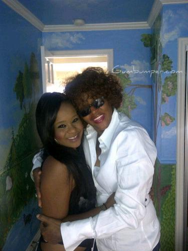 Whitney & Bobbi Kristina