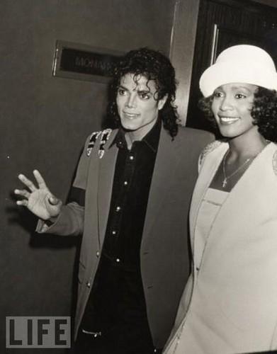 Whitney & Michael Jackson