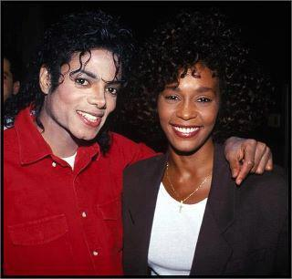 Whitney , you're in Heaven now with Michael ♥ .